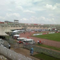 Photo taken at The Nyayo National Stadium by Philip O. on 11/4/2011