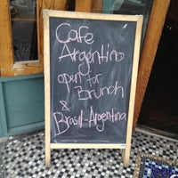 Photo taken at Cafe Argentino by Leon M. on 6/9/2012