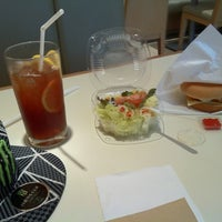 Photo taken at MOS Burger by Anthony P. on 9/20/2011