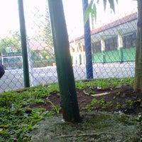 Photo taken at SMP Negeri 9 Bogor by Endyardho R. on 6/19/2012