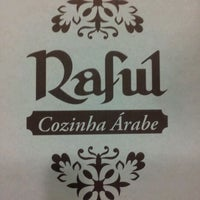 Photo taken at Raful Cozinha Árabe by Tatiana D. on 3/1/2012