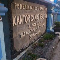 Photo taken at Kantor Kecamatan Ngaliyan Semarang by Murry T. on 8/10/2012
