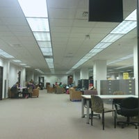 Photo taken at Sterling C. Evans Library by Sravika N. on 12/12/2011
