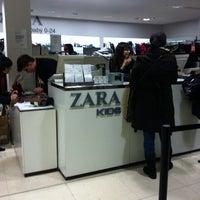 Photo taken at Zara by Dirk D. on 1/4/2011