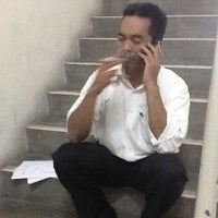 Photo taken at Smoking Area Level 16 by Muhammad S. on 10/25/2011