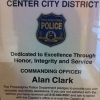Photo taken at Philadelphia Police - Center City Police HQ by JackMangini Y. on 7/2/2011