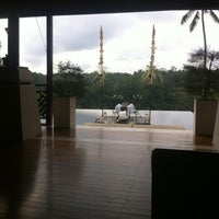 Photo taken at Kupu Kupu Barong Resort And Tree Spa by Feride K. on 1/19/2012