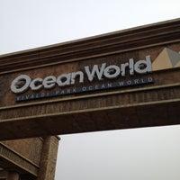 Photo taken at Ocean World by jiyong k. on 6/23/2012