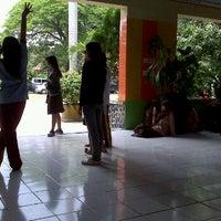 Photo taken at SMA Negeri 1 Puri by Dj W. on 1/28/2012