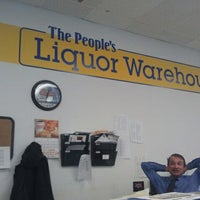 Photo taken at The People's Liquor Warehouse by Steven M. on 1/10/2012