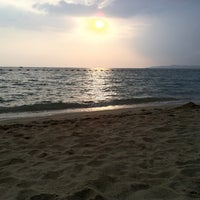 Photo taken at Dongtan Beach by Oscar on 10/21/2011