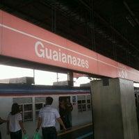 Photo taken at Estação Guaianases (CPTM) by José Wilken C. on 1/7/2012