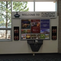 Photo taken at Flagstaff Pulliam Airport (FLG) by Vincent M. on 11/20/2011