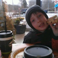 Photo taken at The Woods Coffee (Bakerview Square) by Sonia A. on 1/15/2012