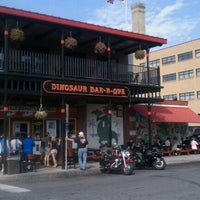 Photo taken at Dinosaur Bar-B-Que by Jason C. on 9/2/2011