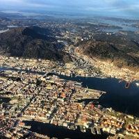 Photo taken at Bergen Lufthavn, Flesland (BGO) by Geir R. on 4/30/2012