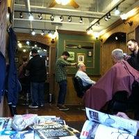 Photo taken at Tweed Barbers of Boston by studiomimi on 5/9/2012