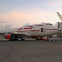 Photo taken at Chhatrapati Shivaji International Airport (BOM) by Varun M. on 6/4/2012