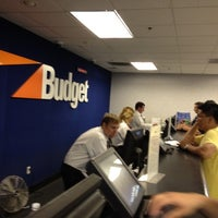 Photo taken at Budget Car Rental by Michael D. on 7/12/2012