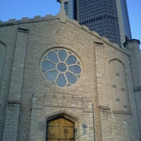 Photo taken at Mariners' Church of Detroit by Dig Downtown on 8/19/2012