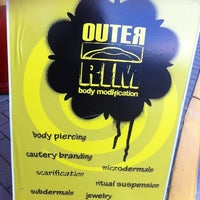 Photo taken at Outer  Rim Body Modifications by Pixiestixx on 7/4/2012