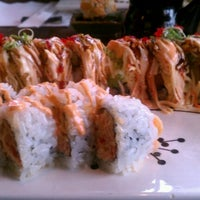 Photo taken at Tuxedo Sushi by Alex S. on 3/16/2012