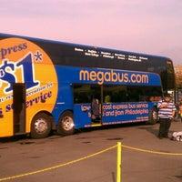 Photo taken at Megabus Stop - Washington, DC by Stuart N. on 10/24/2011