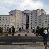 Photo taken at New National Library by Mavjuda on 7/15/2012