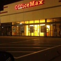 Photo taken at OfficeMax by Roger M. on 11/23/2011