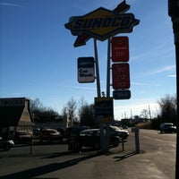 Photo taken at Bechtelsville Sunoco by Willow S. on 12/24/2010