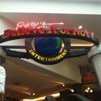 Photo taken at Ripley's Believe It Or Not! by Kataii B. on 2/18/2012