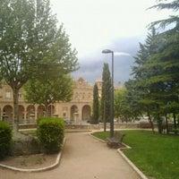 Photo taken at Parque de Pantoja by Sergio E. on 4/30/2011