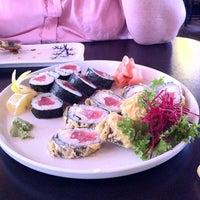 Photo taken at Arigato Sushi by Rachel W. on 11/29/2011