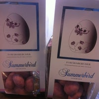 Photo taken at Summerbird Chocolaterie by Søren C. on 3/3/2012