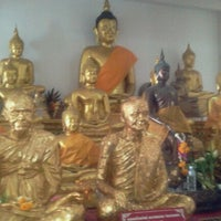 Photo taken at Wat Lahan by nuch816 s. on 9/9/2011