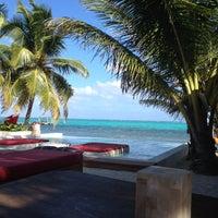 Photo taken at Rojo Beach Bar by Jolie B. on 2/14/2012