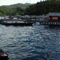 Photo taken at Lembe Island by Sri Rahmatia P. on 12/29/2011