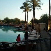 Photo taken at Fairmont Scottsdale Princess by Jason H. on 11/23/2011