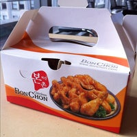 Photo taken at BonChon Chicken by dizberiq on 2/1/2012