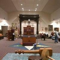 Photo taken at Suburban Masonic Lodge #740 F&AM by Jack R. on 12/9/2011