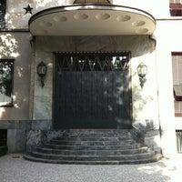 Photo taken at Villa Necchi Campiglio by Ilaria on 7/22/2011