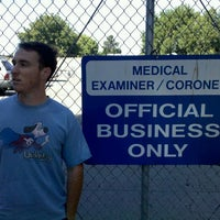 Photo taken at Santa Clara County Medical Examiners Office by C on 9/4/2011