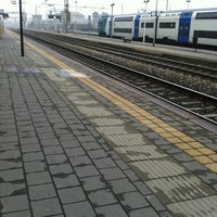 Photo taken at Stazione Seregno by Roberto B. on 2/13/2011