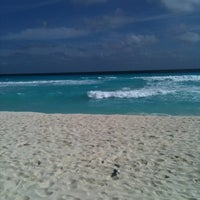 Photo taken at Playa Marlin by Lalo S. on 12/25/2011