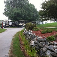 Photo taken at Candia Woods Golf Links by Jef K. on 9/15/2011