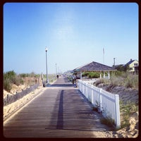Photo taken at Rehoboth Beach Boardwalk by Ted E. on 7/6/2012
