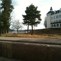 Photo taken at Saltsjöbaden (L) by Martin B. on 3/18/2012