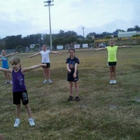 Photo taken at Highlander Field -  Home of the Clermont Knights by Holly H. on 2/18/2012