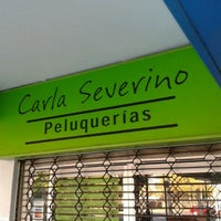 Photo taken at Peluqueria Carla Seberino by Ig_torresd   I. on 2/14/2012