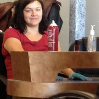 Photo taken at First Nails Salon by Kim M. on 5/19/2012
